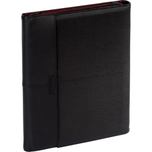 Targus Zierra THZ062US Carrying Case (Portfolio) for iPad - Black, Burgundy - Leather
