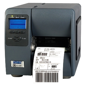 Datamax M-Class M-4210 Direct Thermal Printer - Monochrome - Desktop - Label Print - 10 in/s Mono - 203 dpi - Fast Ethernet - USB - LCD