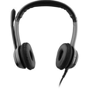 Logitech B530 Headset - Stereo - USB - Wired - 20 Hz - 20 kHz - Over-the-head - Binaural - Semi-open - 8 ft Cable - Noise Cancelling Microphone