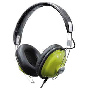 Panasonic RP-HTX7 Stereo Headphone - Wired Connectivity - Stereo - Over-the-head - Green