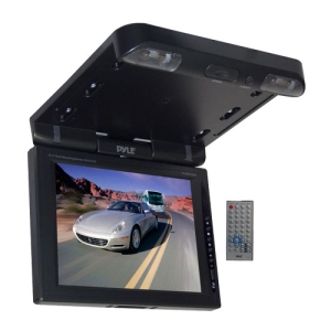 Pyle PLRD103IF Car DVD Player - FMRoof-mountable