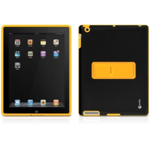 Macally iPad Skin - iPad - Yellow, Black