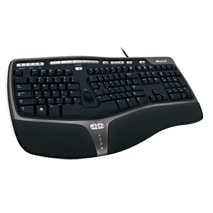 Microsoft 4000 Keyboard - Cable - USB - English (North America) - Computer - QWERTY