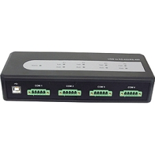 SIIG ID-SC0A11-S1 USB to Serial Hub - 4 x 5-pin Female RS-422/485 Serial, 1 x 4-pin Type B Female USB 2.0 USB USB