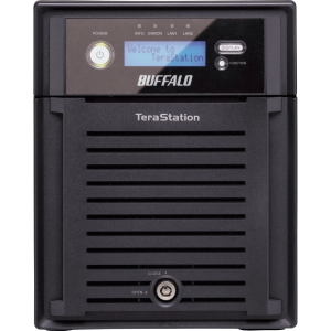 Buffalo TeraStation Pro Quad WSS WS-QVL/R5 Network Storage Server - Intel Atom 1.66 GHz - 8 TB (4 x 2 TB) - RJ-45 Network, USB, USB