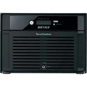 Buffalo TeraStation Pro 6 WSS WS-6VL/R5 Network Storage Server - Intel Atom 1.66 GHz - 12 TB (6 x 2 TB) - RJ-45 Network, USB, USB