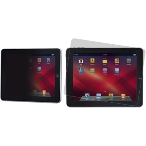 "3M Privacy Screen Protector-Apple iPad (Horiz) Black - 9.7"" LCD - iPad"