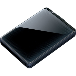 Buffalo MiniStation Plus HD-PNTU3 500 GB External Hard Drive - Black - USB 3.0 - SATA