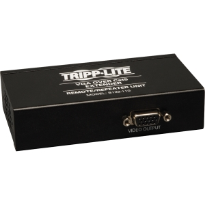 Tripp Lite B132-110 TAA/GSA Compliant Video Console - 1 Input Device - 2 Output Device - 1000 ft Range - 2 x Network (RJ-45)