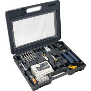 SYBA Multimedia 50 Piece Computer Network Installation Kit with Cable Tester
