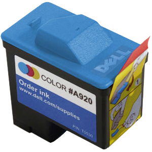 Dell T0530 Ink Cartridge - Color - Inkjet - 250 Page