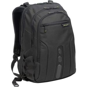 Targus EcoSmart TBB019US Carrying Case (Backpack) for 17&quot; Notebook - Black, Green - Polyester