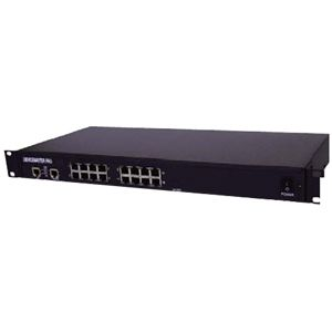 Comtrol DeviceMaster PRO 16-Port Device Server - 16 x RJ-45 , 2 x RJ-45