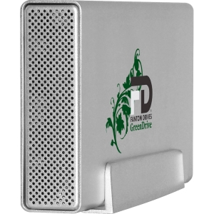 "Fantom GreenDrive GD1500EU 1.50 TB 3.5"" External Hard Drive - USB 2.0, eSATA"