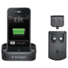 Kensington K39350US Cellular Phone Cradle - Cellular Phone - Charging Capability - 1 x USB - Black