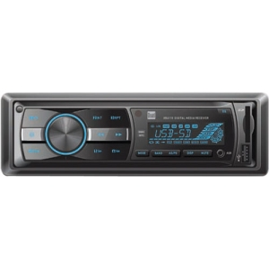 Dual XR4115 Car Flash Audio Player - 200 W RMS - MP3, WMA - AM, FM - 18, 12 x FM, AM Preset - Secure Digital (SD) Card, Secure Digital High Capacity (SDHC) - USB - Auxiliary Input - Detachable Front Panel