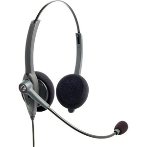 VXi Passport 21V Headset - Stereo - Quick Disconnect - Wired - 150 Ohm - 20 Hz - 15 kHz - Gold Plated - Over-the-head - Binaural - Semi-open - Noise Cancelling, Electret Microphone