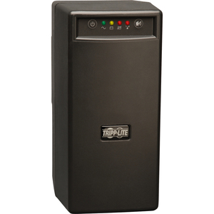 Tripp Lite BC600SINE 600 VA Tower UPS - 600 VA/375 WTower 0.06 Hour Full Load - 3 x NEMA 5-15R - Battery Backup System, 3 x NEMA 5-15R - Surge-protected