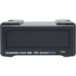 Tandberg Data RDX QuikStor 8667-RDX Drive Dock - External - Black - USB 3.0