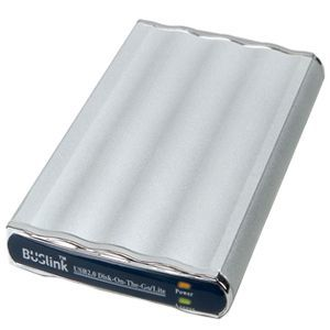 "Buslink Disk-On-The-Go DL-160-U2 160 GB 2.5"" External Hard Drive - USB 2.0 - 5400 rpm"