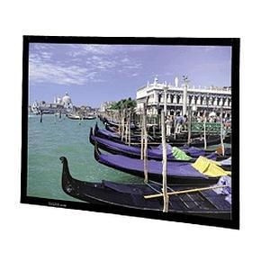 "Da-Lite Perm-Wall Fixed Frame Projection Screen - 90"" x 120"" - Da-Mat - 150"" Diagonal"