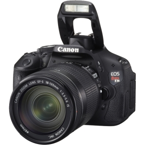 "Canon EOS Rebel T3i 18 Megapixel Digital SLR Camera (Body with Lens Kit) - 18 mm - 55 mm - 3"" LCD - 3.1x Optical Zoom - Optical (IS) - 5184 x 3456 Image - 1920 x 1080 Video - HDMI - PictBridge - HD Movie Mode"