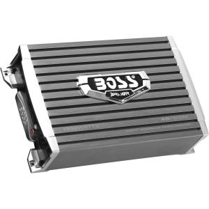 Boss ARMOR AR1500M Car Amplifier - 1500 W PMPO - 1 Channel - Class AB - 105 dB SNR - 0% THD - MOSFET Power Supply - 700 W @ 4 Ohm