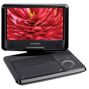 "Audiovox DS9341 Portable DVD Player - 9"" - DVD-R, CD-R - JPEG - DVD Video - 16:9 - 2 x Speaker(s) - MP3, CD-DA - 1 x Headphone Port(s) - Lithium Polymer -"