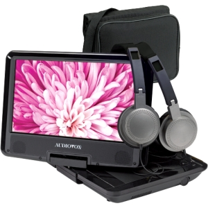 "Audiovox 9"" Swivel Portable DVD Player with Mount Kit"