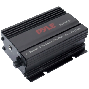 Pyle PLMPA35 Car Amplifier - 300 W PMPO - 2 Channel - Class AB - 1% THD - 15 W @ 4 Ohm