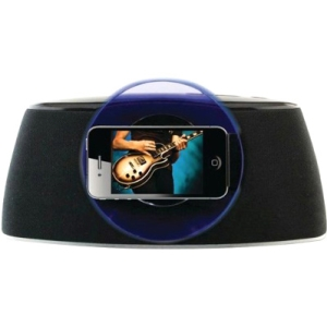 iLive ISP301B Speaker System - Black, Blue - iPod Supported