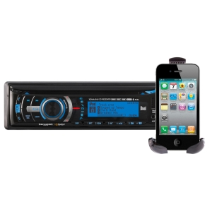 Dual XDMA6540 Car CD/MP3 Player - 240 W RMS - iPod/iPhone Compatible - CD-R - CD-DA, MP3, WMA - AM, FM - Secure Digital (SD) Card - Bluetooth - USB - Auxiliary Input