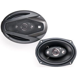 "Dual DLS694 Speaker - 50 W RMS - 4-way - 70 Hz to 20 kHz - 4 Ohm - 6"" x 9"""