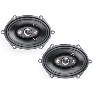 "Dual DLS574 Speaker - 40 W RMS - 4-way - 70 Hz to 20 kHz - 4 Ohm - 5"" x 7"""