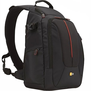 Case Logic Sling DCB-308 Carrying Case for Camera - Black - Nylon