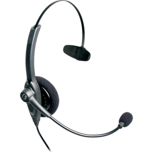 VXi Passport 10V DC Headset - Mono - Quick Disconnect - Wired - Over-the-head - Monaural - Semi-open - Noise Cancelling Microphone