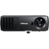 InFocus IN1112 3D Ready DLP Projector - 720p - HDTV - 16:10 - NTSC, PAL, SECAM - 1280 x 800 - WXGA - 2,600:1 - 2200 lm - HDMI - USB - VGA In - 185 W - Black Color - 2 Year Warranty