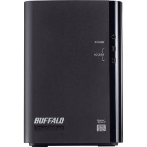 Buffalo DriveStation Duo HD-WL2TU3R1 DAS Hard Drive Array - 2 x HDD Installed - 2 TB Installed HDD Capacity - RAID Support - 2 x Total Bays - USB 3.0 External