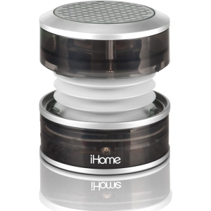 iHome iHM60 2.0 Speaker System - Gray - USB - iPod Supported