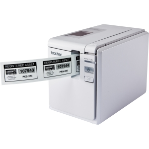 Brother P-touch PT-9700PC Thermal Transfer Printer - Monochrome - Desktop - Label Print - 3.15 in/s Mono - 360 x 720 dpi - USB