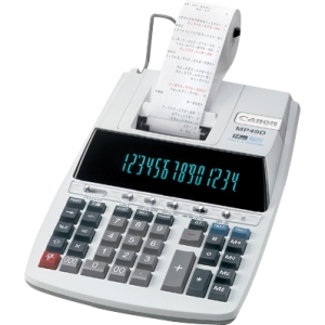 "Canon 14 Digit Printing Calculator - 14 Character(s) - Fluorescent - Power Adapter Powered - 3.0"" x 8.9"" x 13.2"""