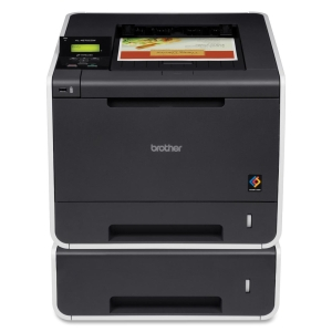 Brother HL-4570CDWT Laser Printer - Color - 2400 x 600 dpi Print - Plain Paper Print - Desktop - 30 ppm Mono / 30 ppm Color Print - 800 sheets Input - Automatic Duplex Print - LCD - Fast Ethernet - Wi-Fi - USB