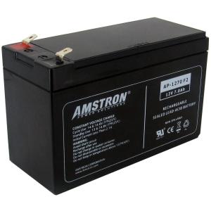 Image of Amstron AP-1270F2 General Purpose Battery - 7000 mAh - Sealed Lead Acid