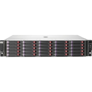 HP StorageWorks D2700 DAS Array - 25 x HDD Installed - 11.25 TB Installed HDD Capacity - RAID Supported - 25 x Total Bays - 2U Rack-mountable