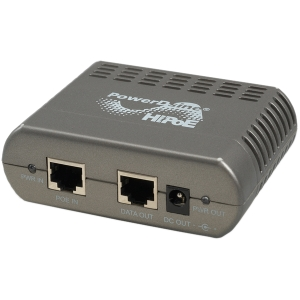 Microsemi PowerDsine 2-Pair Power over Ethernet Active Splitter - 57 V DC Input - 18 V DC Output - 24 W