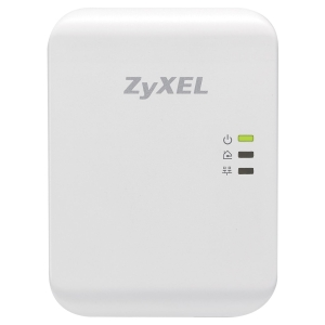 Zyxel PLA4205 Powerline Gigabit Ethernet Adapter - 1 x Network (RJ-45) - 984.25 ft Distance Supported - HomePlug AV - Gigabit Ethernet