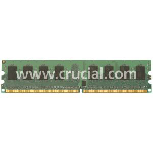Crucial 8GB DDR2 SDRAM Memory Module - 8GB (2 x 4GB) - 667MHz DDR2-667/PC2-5300 - Non-ECC - DDR2 SDRAM - 240-pin DIMM
