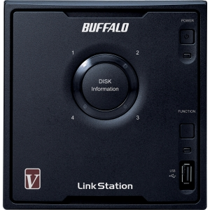 Buffalo LinkStation Pro Quad LS-QVL Network Storage Server - Marvell 1.60 GHz - 12 TB (4 x 3 TB) - RJ-45 Network, Type A USB