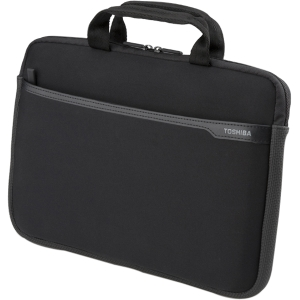 Toshiba PA1502U-1SN3 Carrying Case for 13.3&quot; Notebook - Black - Water Resistant - Neoprene
