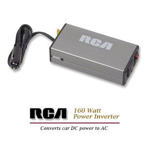 RCA 160 Watt DC-to-AC Power Inverter - AH150N